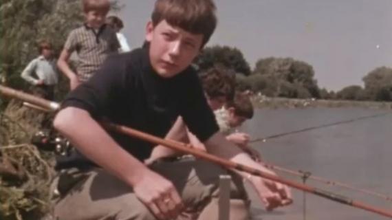 Vidéo de pêche de la carpe dans les années 1970