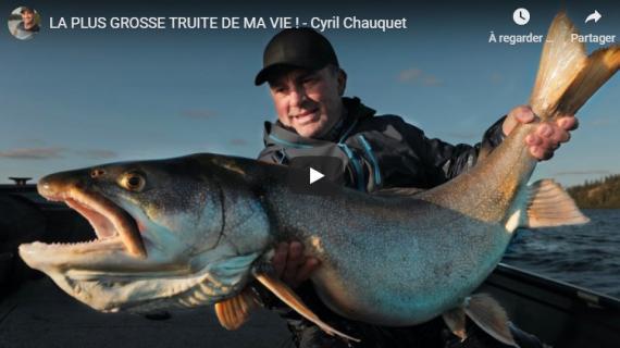 La plus grosse truite de ma vie, Cyril Chauquet